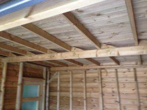 Garage-à-ossature-bois-faux-toit-plat