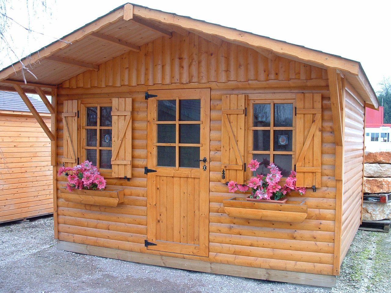 Abri jardin domont sapinr 350x300 1 cerisier abris de jardin en boiscerisier abris de - Abri de jardin bois original limoges ...