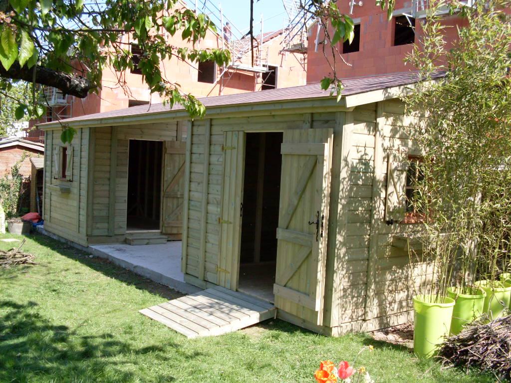 Acheter cabane de jardin mercredi chez laurette la for Acheter jardin
