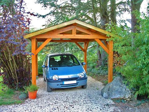 Carports : Abris voitures ouverts | Cerisier : abris de jardin en bois
