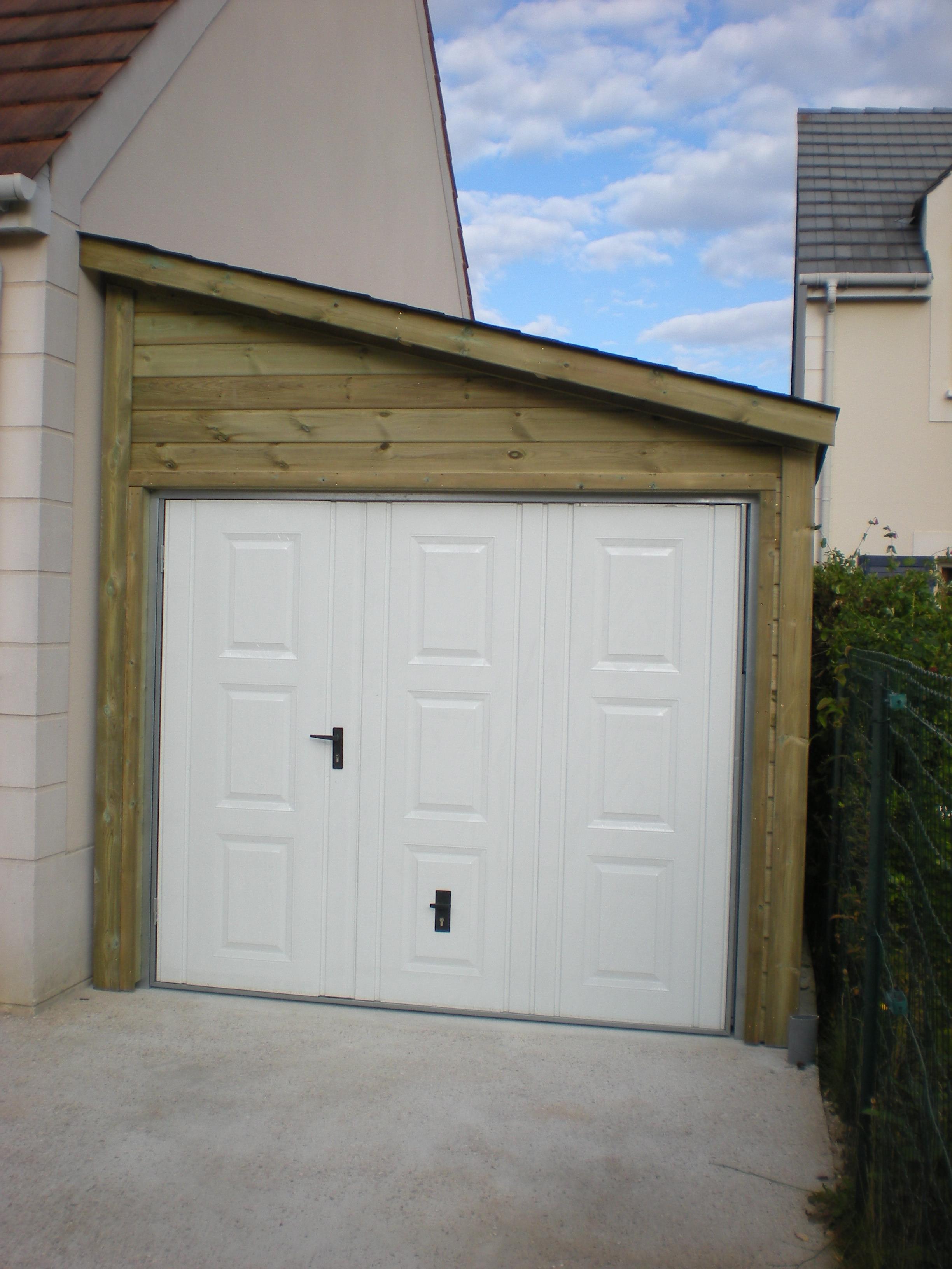 Garage 1 pente cerisier abris de jardin en for Garage bois autoclave