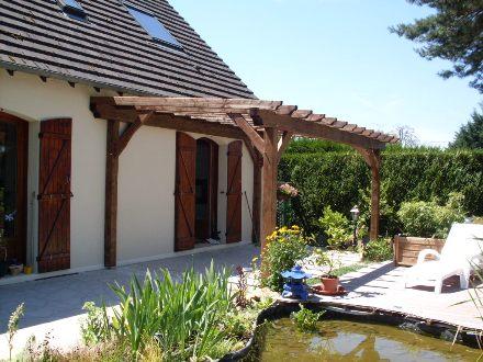 pergolas bois cerisier abris de jardin en boiscerisier abris de jardin en bois. Black Bedroom Furniture Sets. Home Design Ideas