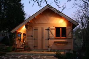 chalet en bois sans permis de construire