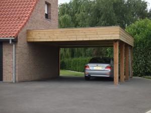 carport adoss en bois pour abriter votre voiture cerisiercerisier abris de jardin en bois. Black Bedroom Furniture Sets. Home Design Ideas