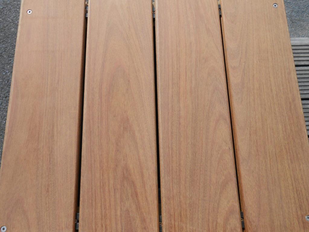 Terrasse Ipé à clips