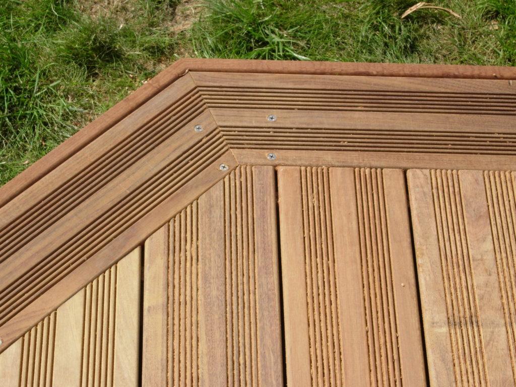 Terrasse en bois exotique JATOBA