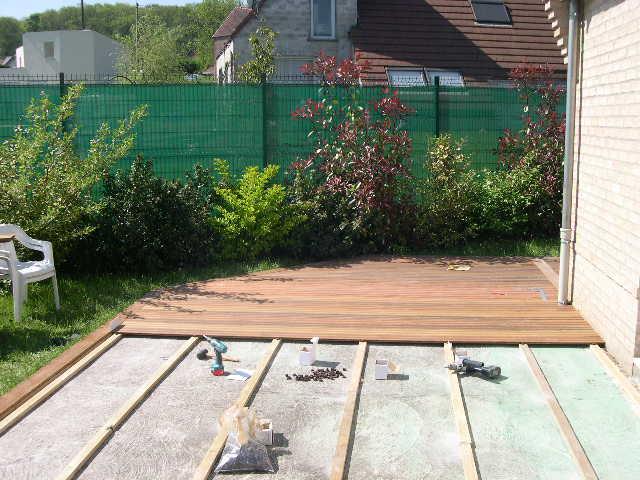 Terrasse en bois exotique JATOBA 2