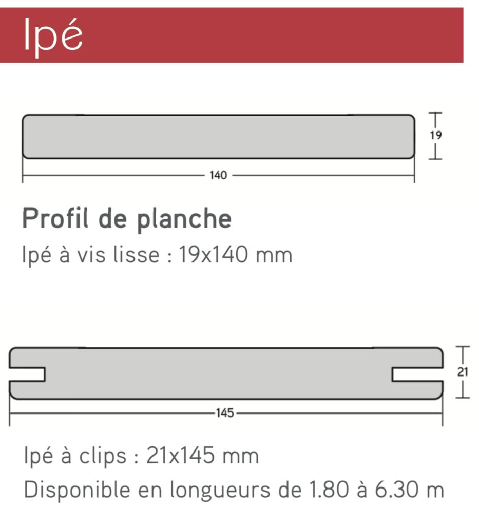 terrasse boi IPE