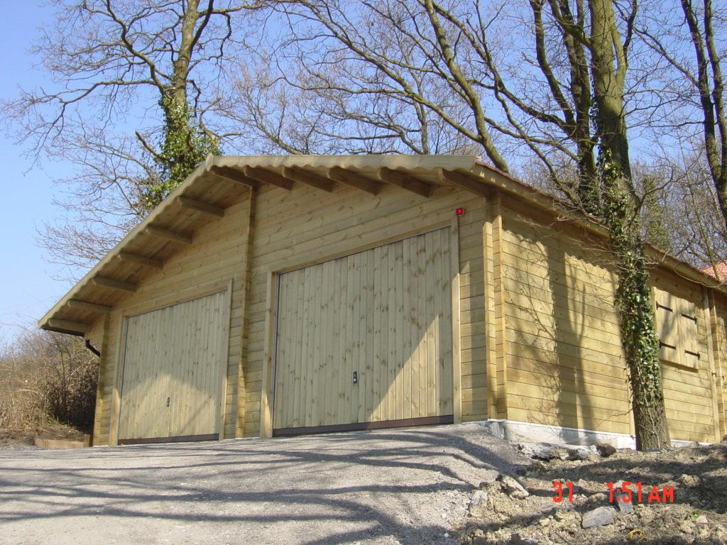 garage double en bois Garage double en bois : Pour qui ?