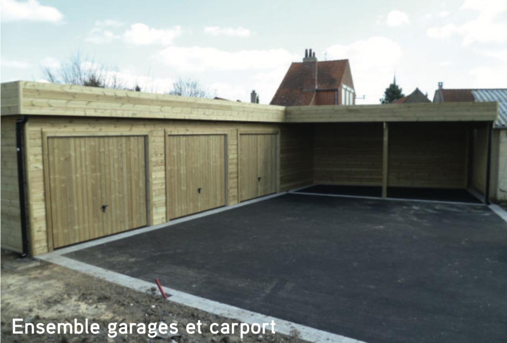 Garage Ensemble garages et carport