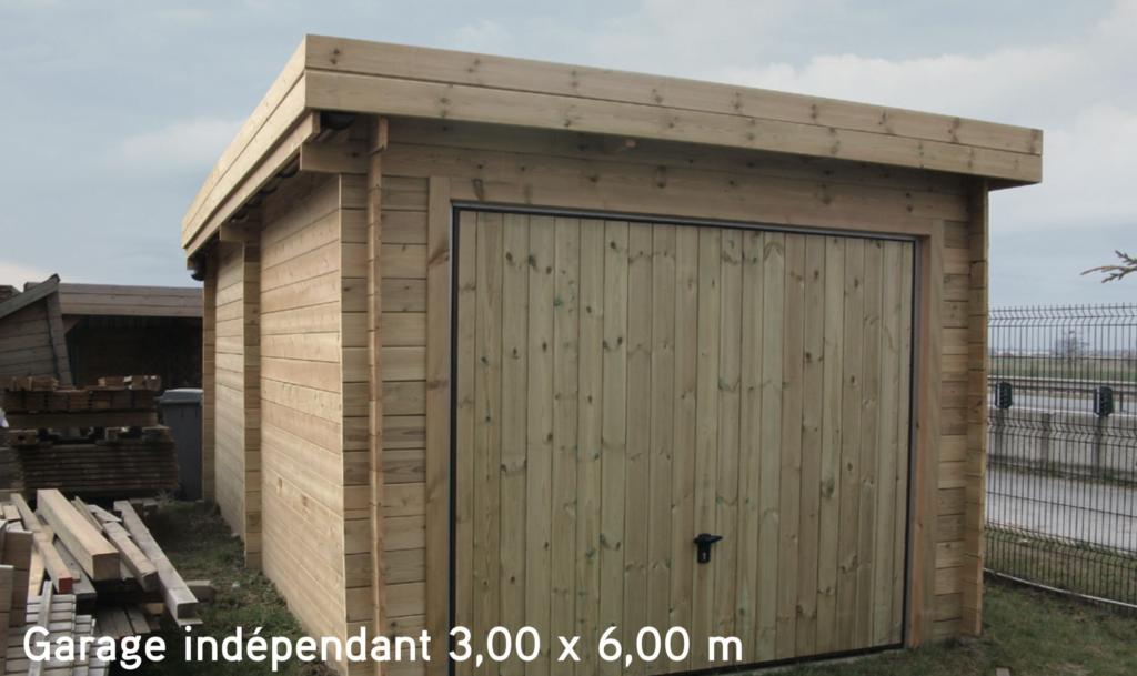 Garage Garage indépendant 3,00 x 6,00 m