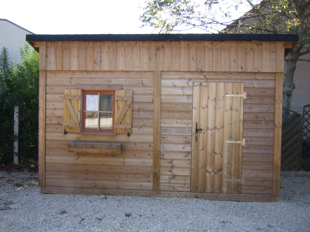 abri jardin CASTEL autoclave vert 200 x 400