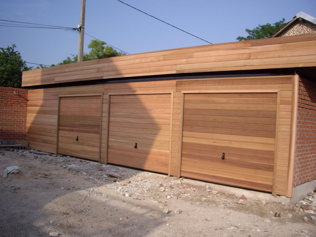 garage 12.00 X 600 en red cédar