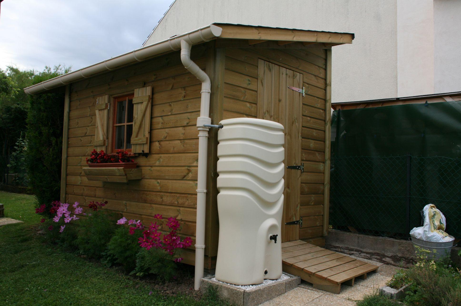 Construire Abri De Jardin abri de jardin castel 2,00m x 3,50m avec gouttières