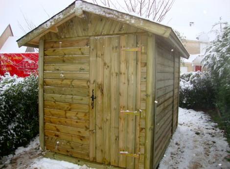 Abri de jardin CELY 2 m x 2 m 1