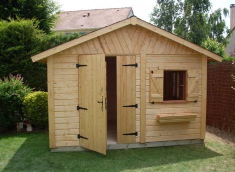 Abri de jardin en bois NANDY 3,50 M X 2,50 M  1