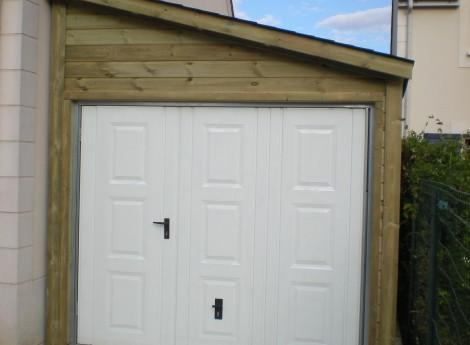 Garage (Anjou) 1 pente 2,70M X 7,00M 1