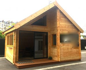 Achat STUDIO DE JARDIN 19,95 M2 + Mezzanine en bois | Cerisier