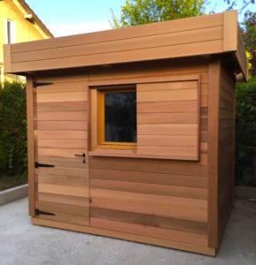 Les avantages d'un abris de jardin avec un toit plat