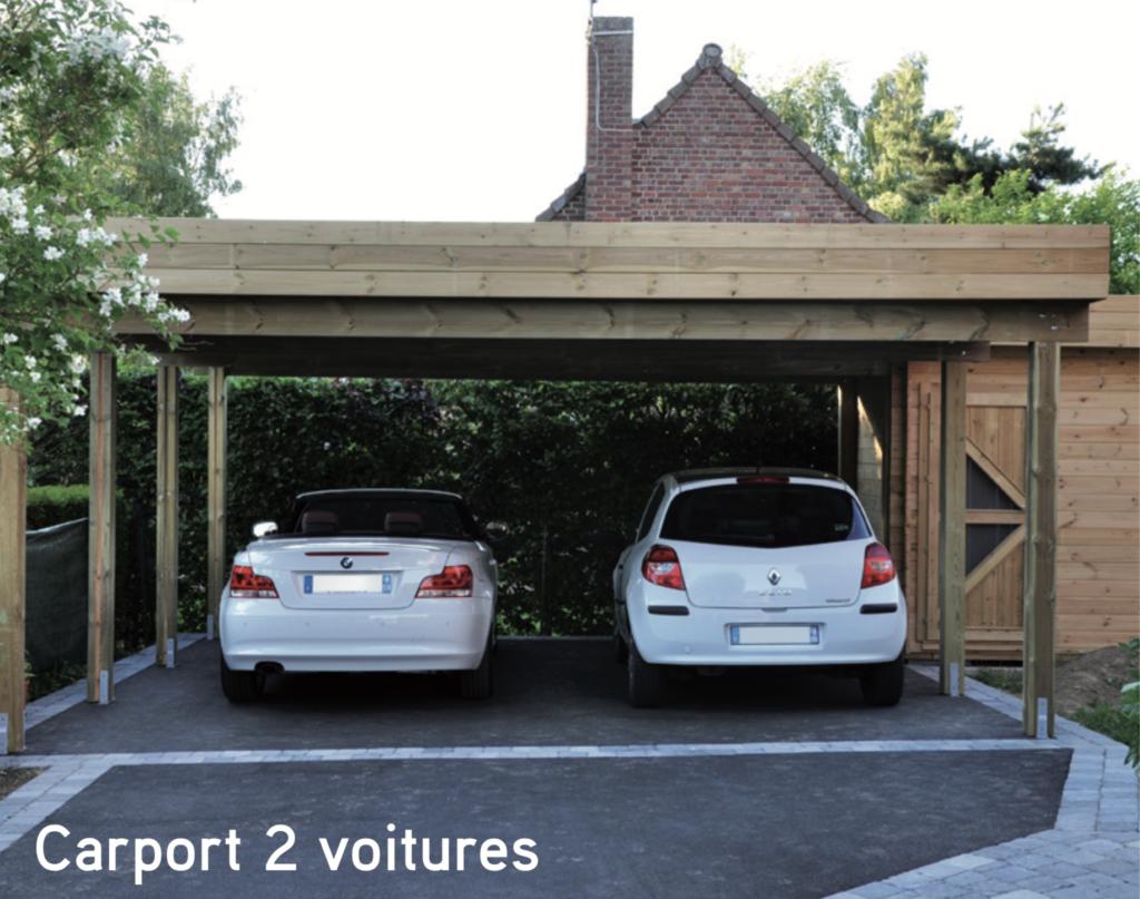 Carport Carport 2 voitures