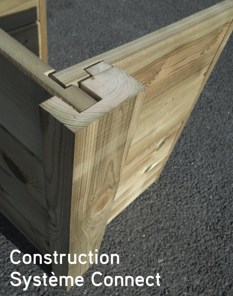 contemporain Construction Système Connect