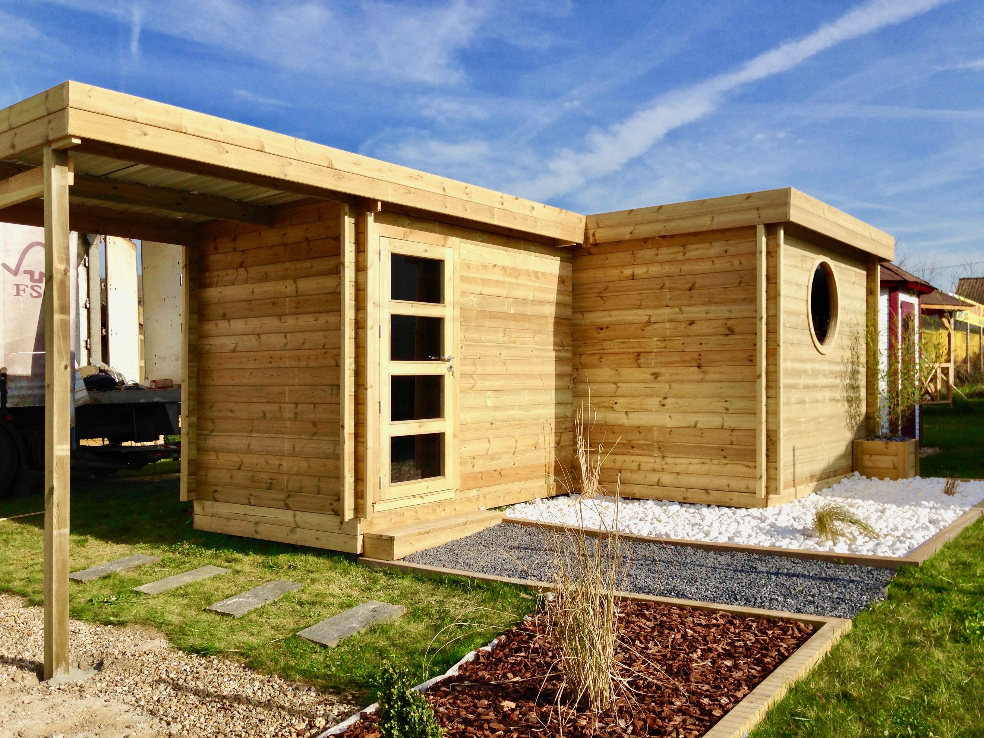 CERISIER : abris de jardin en bois | Fabricant français ...
